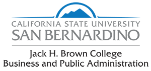 California State University San Bernardino Jack H Brown College of Business and Public Administration